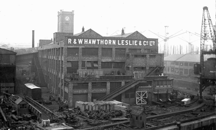 hawthorn leslie hebburn history